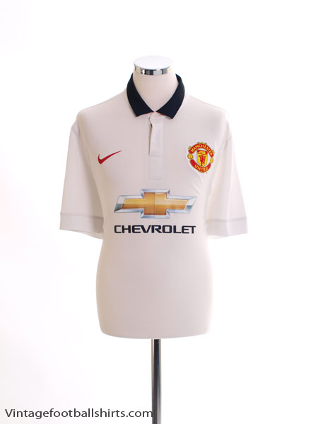 2014-15 Manchester United 'Authentic' Away Shirt M - 575280-703
