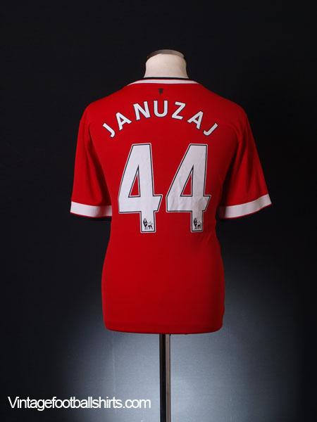 2014-15 Manchester United Home Shirt Januzaj #44 L - 611031-624