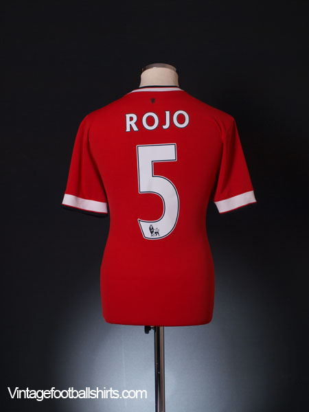2014-15 Manchester United Home Shirt Rojo #5 M