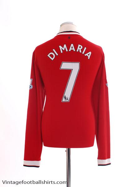 2014-15 Manchester United Home Shirt L/S L