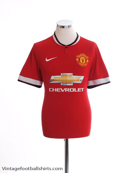 2014-15 Manchester United Home Shirt L - 611031-624
