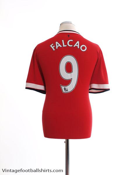 2014-15 Manchester United Home Shirt Falcao #9 L - 611031-624
