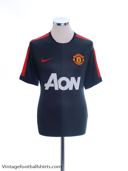 2014-15 Manchester United Nike Training Shirt L - 610472-011