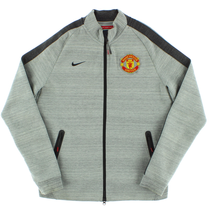 2014-15 Manchester United Nike N98 Track Jacket *Mint* M - 626749-063