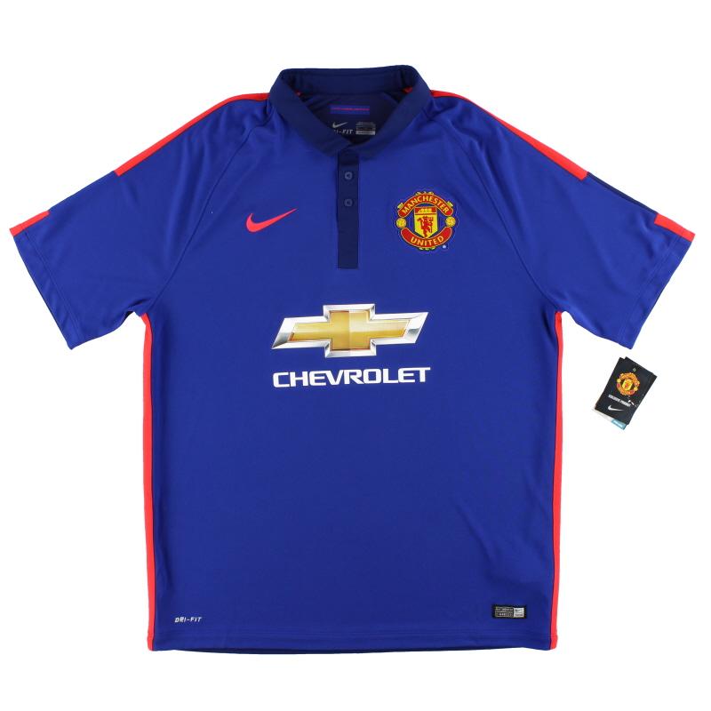 2014-15 Manchester United Nike Third Shirt *w/tags* XL - 631205-419