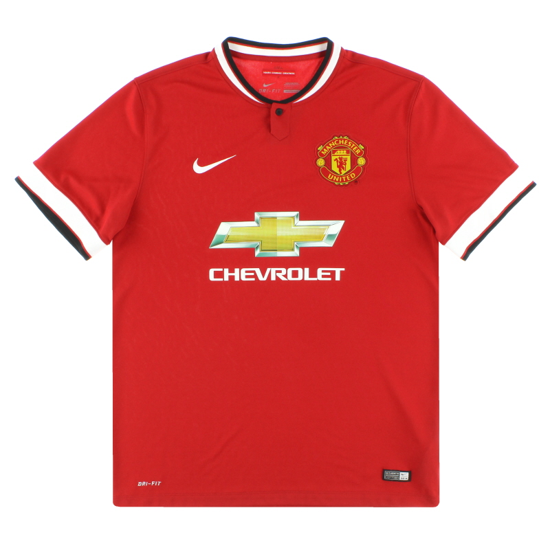 2014-15 Manchester United Nike Home Shirt M - 611031-624
