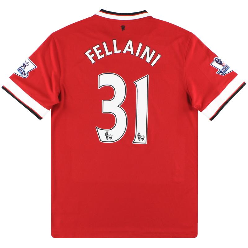 2014-15 Manchester United Nike Home Shirt Fellaini #31 *w/tags* M - 611031-624