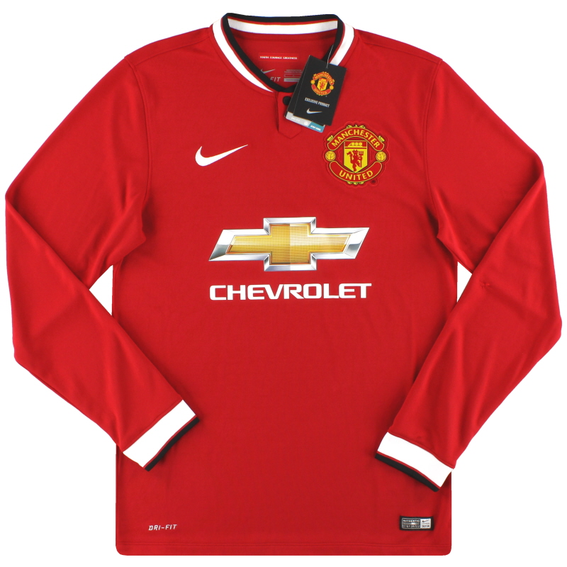 2014-15 Manchester United Nike Home Shirt *w/tags* S - 611038