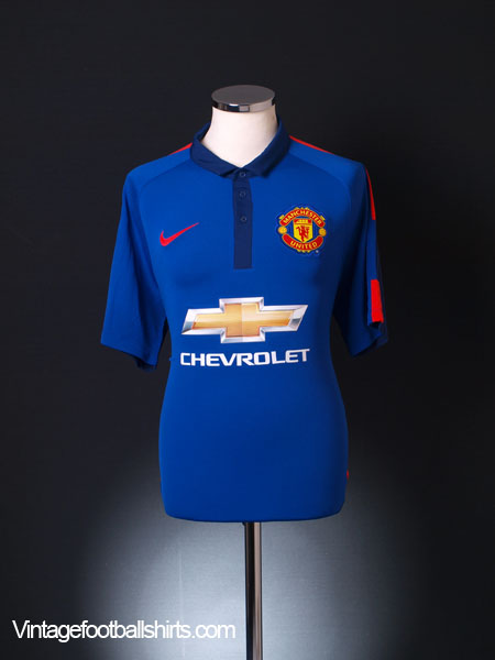 2014-15 Manchester United Third Shirt M