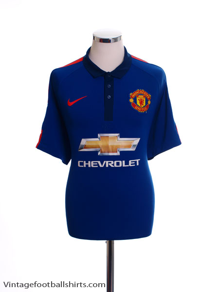 2014-15 Manchester United Third Shirt S