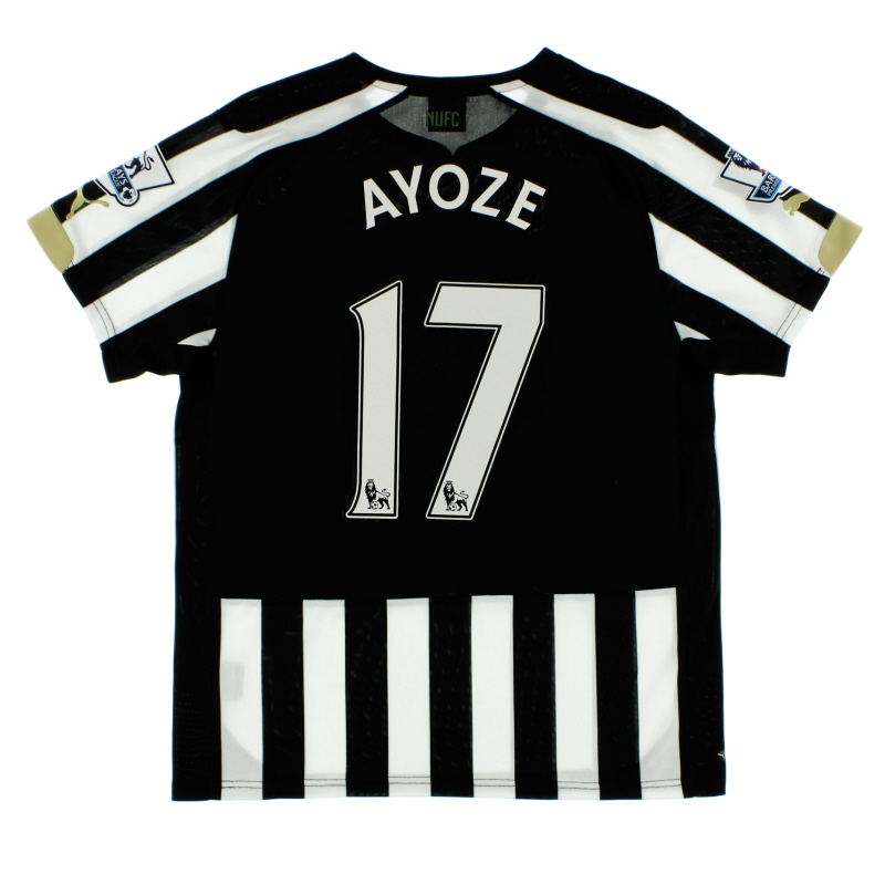 2014-15 Newcastle Puma Home Shirt Ayoze #17 S