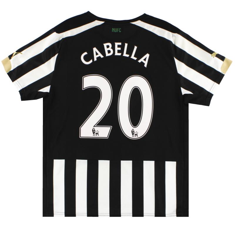 2014-15 Newcastle Puma Home Shirt Cabella #20 M - 745993