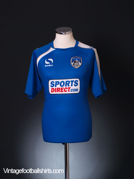 2014-15 Oldham Home Shirt M