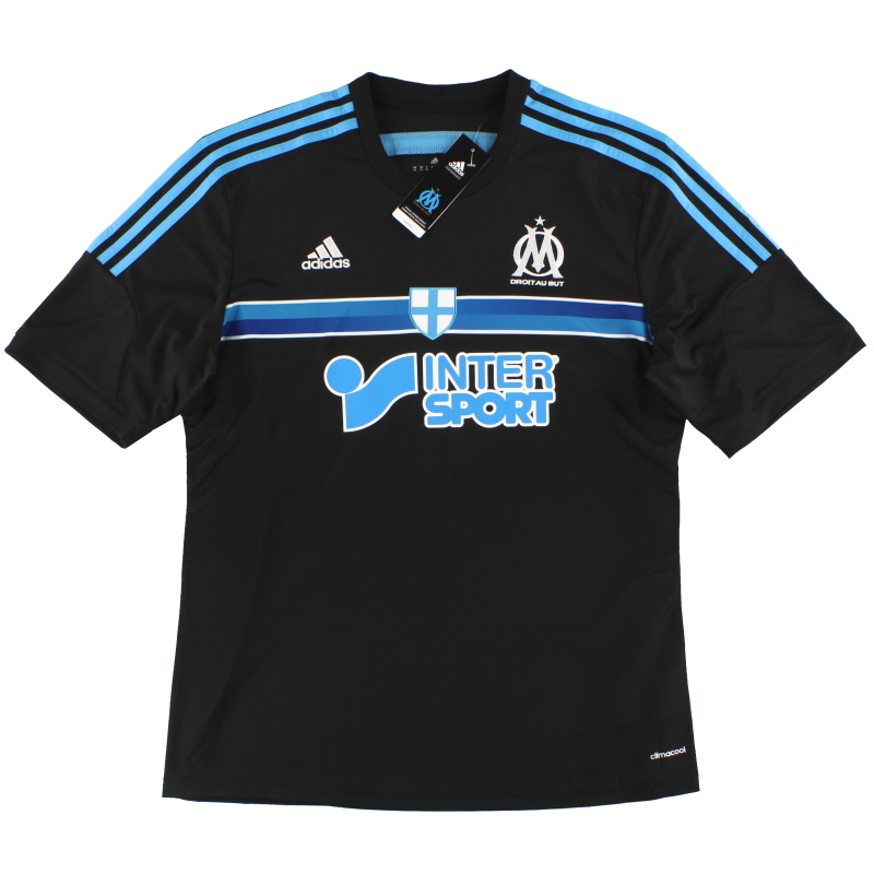 2014-15 Olympique Marseille adidas Third Shirt *BNIB* XL - G92118