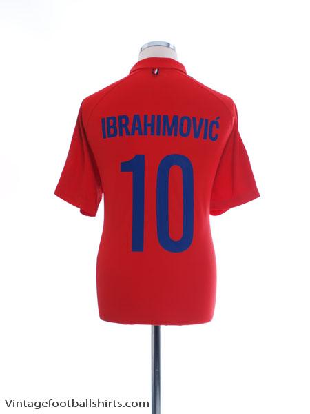 2014-15 Paris Saint-Germain CL Third Shirt Ibrahimovic #10 L