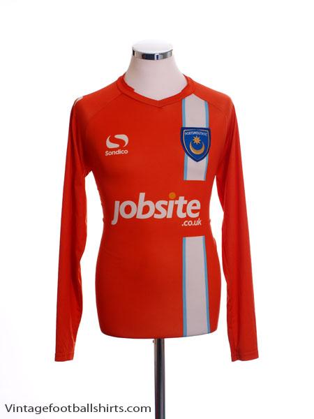 2014-15 Portsmouth Goalkeeper Shirt L/S M