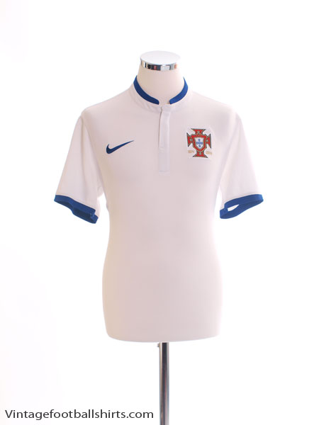 2014-15 Portugal Away Shirt M