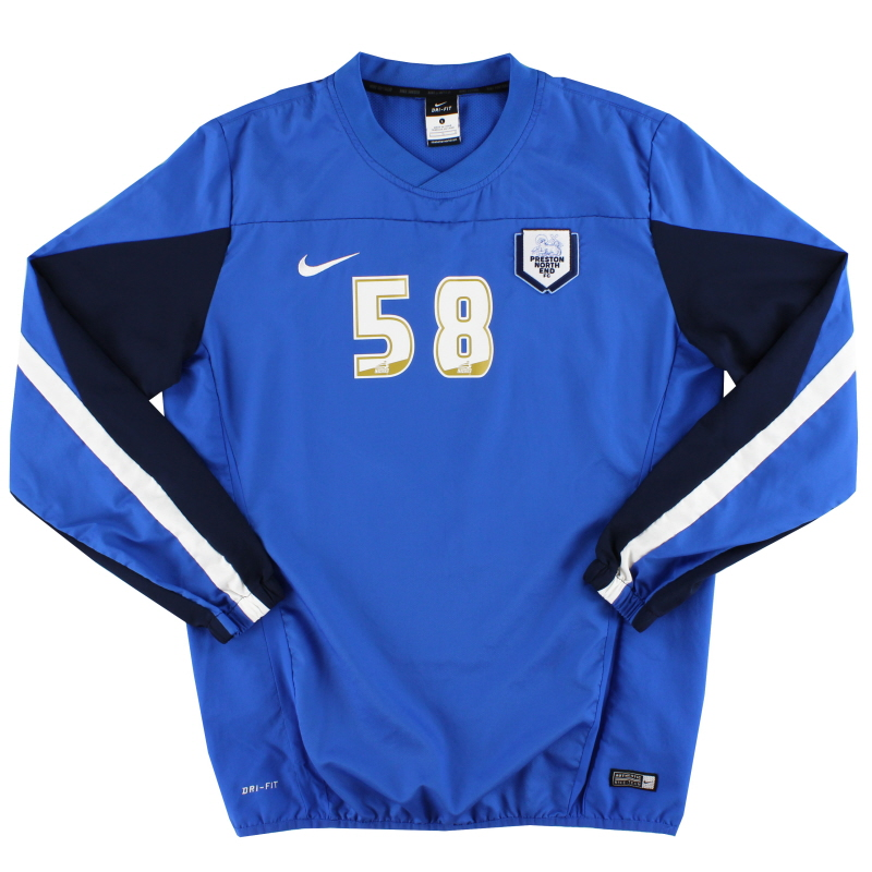 2014-15 Preston Player Issue Midlayer Training Top #58 L