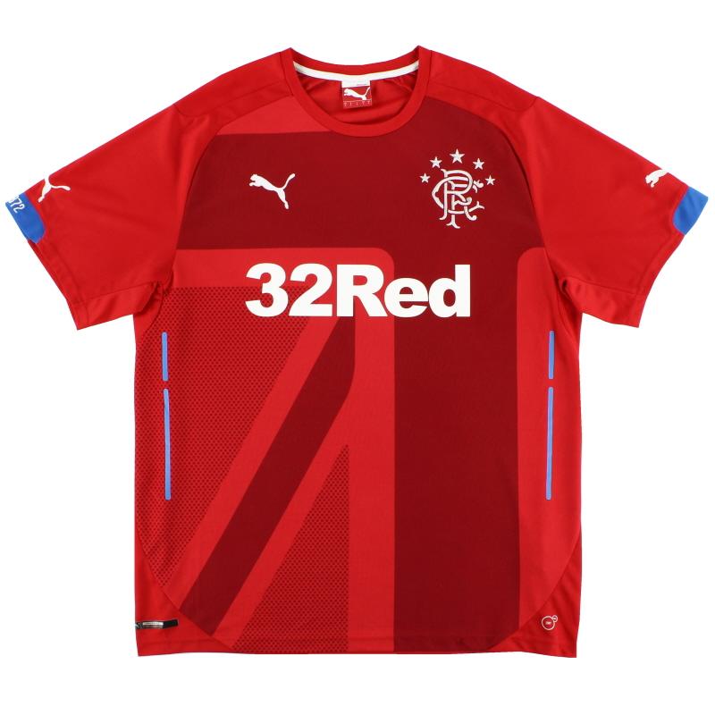 2014-15 Rangers Third Shirt *Mint* L - 746207