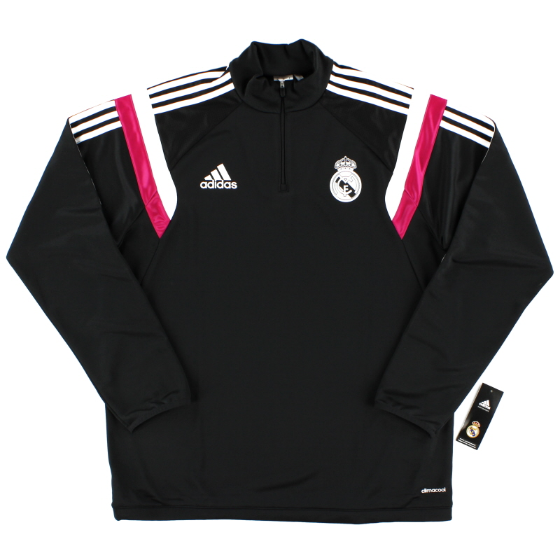 2014-15 Real Madrid adidas 1/2 Zip Training Jacket *BNIB*