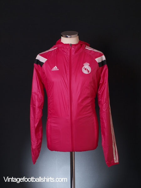 2014-15 Real Madrid adidas Anthem Walk-Out Away Jacket *BNIB* L