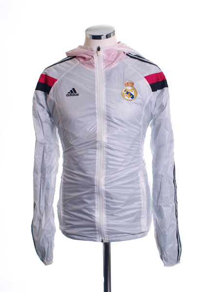 2014-15 Real Madrid adidas Anthem Walk-Out Home Jacket *BNIB*