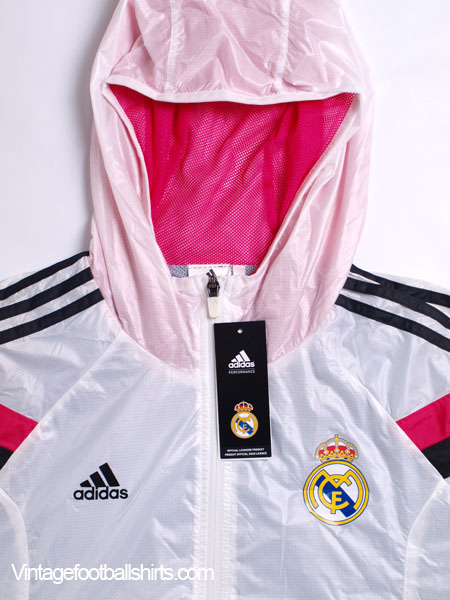 90de6da7f 2014-15 Real Madrid adidas Anthem Walk-Out Home Jacket  BNIB  for sale