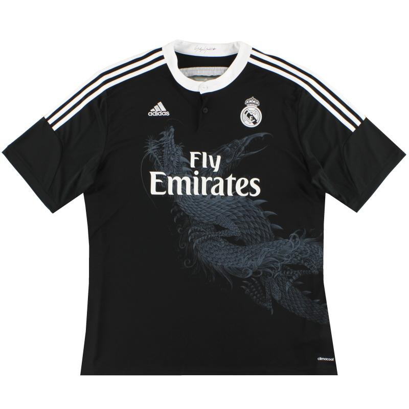 2014-15 Real Madrid adidas Third Shirt *As New* XXL - F49264