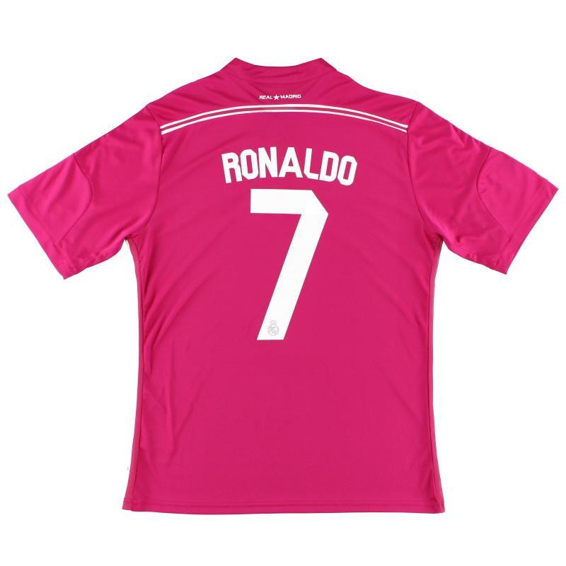 2014-15 Real Madrid Away Shirt Ronaldo #7 L - G87445