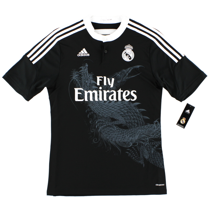 2014-15 Real Madrid Third Shirt *BNIB*  - F49264