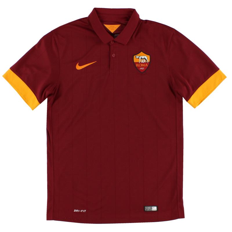 2014-15 Roma Nike Home Shirt XL - 635811-678