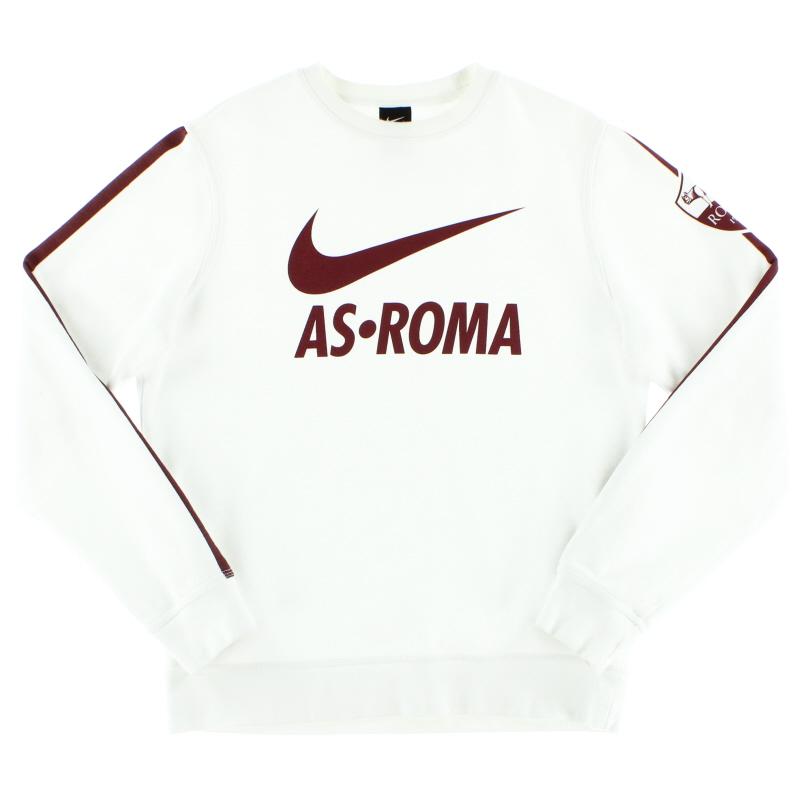 2014-15 Roma Nike Core Crew Sweatshirt *Mint* M - 637824-100