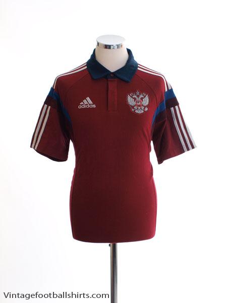 2014-15 Russia Polo Shirt M