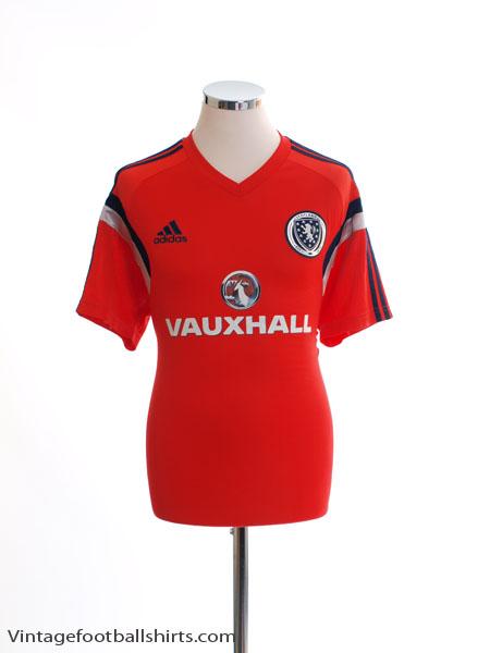 2014-15 Scotland Adizero Training Shirt L