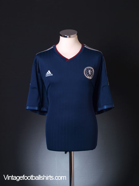 2014-15 Scotland Home Shirt XXL