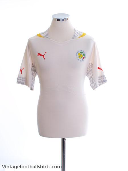 2014-15 Senegal ACTV Fit Home Shirt XL