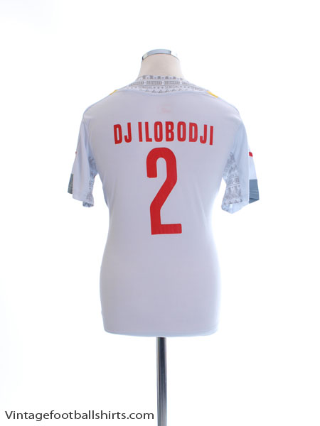 2014-15 Senegal Player Issue Home Shirt Djilobodji #2 L