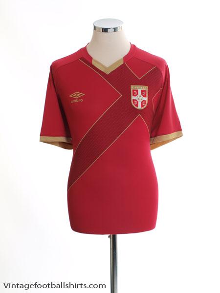 2014-15 Serbia Home Shirt XL