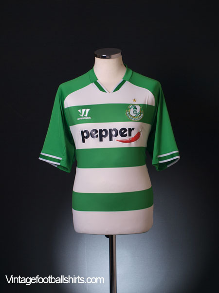 2014-15 Shamrock Rovers Home Shirt XL