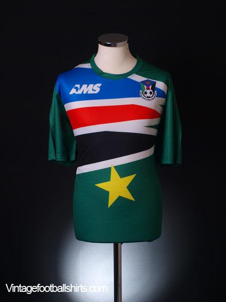 2014-15 South Sudan Away Shirt *BNIB*