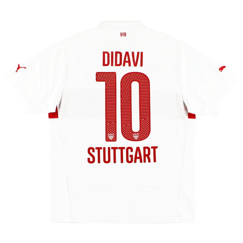 2014-15 Stuttgart Home Shirt Didavi #10 L - 746058