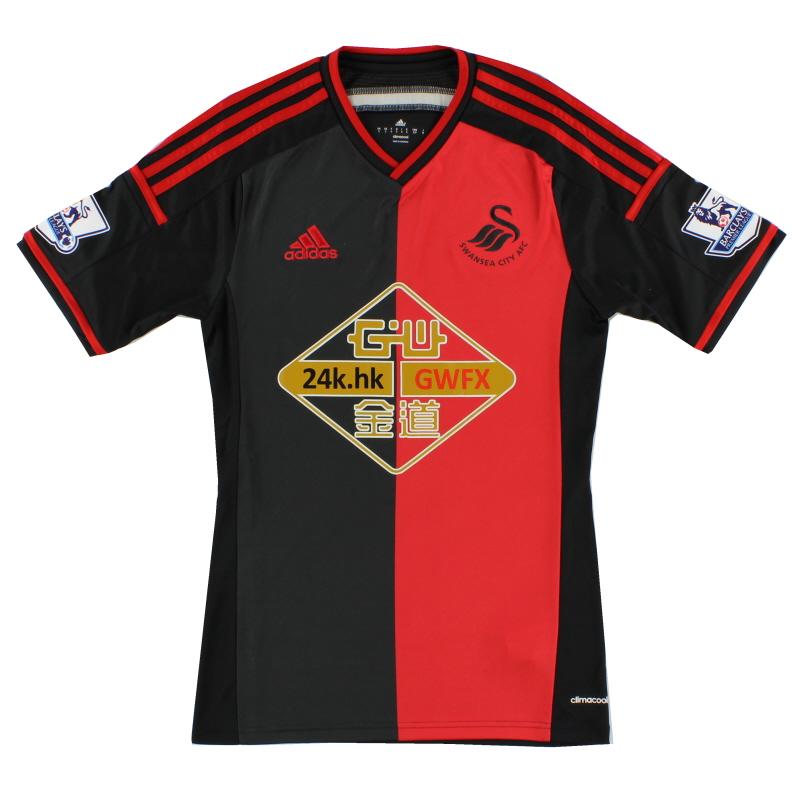 2014-15 Swansea adidas Away Shirt S