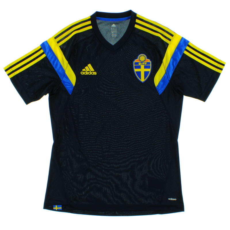 2014-15 Sweden adizero Training Shirt M - D83799