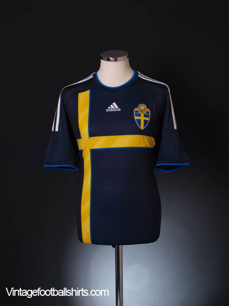 2014-15 Sweden Away Shirt L