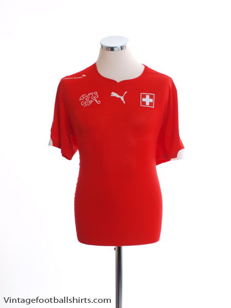 2014-15 Switzerland Home Shirt L