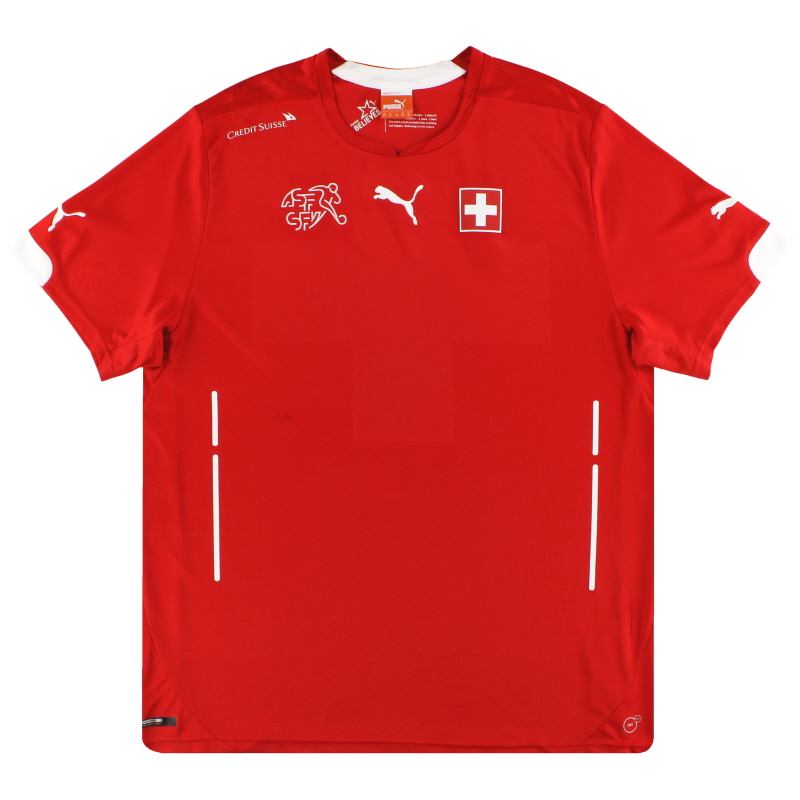 2014-15 Switzerland Puma Home Shirt M - 744378