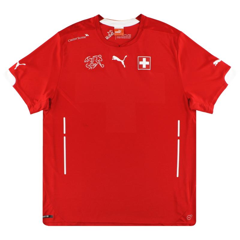 2014-15 Switzerland Puma Home Shirt S - 744378