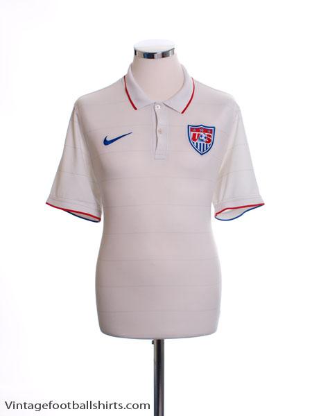 2014-15 USA Home Shirt L