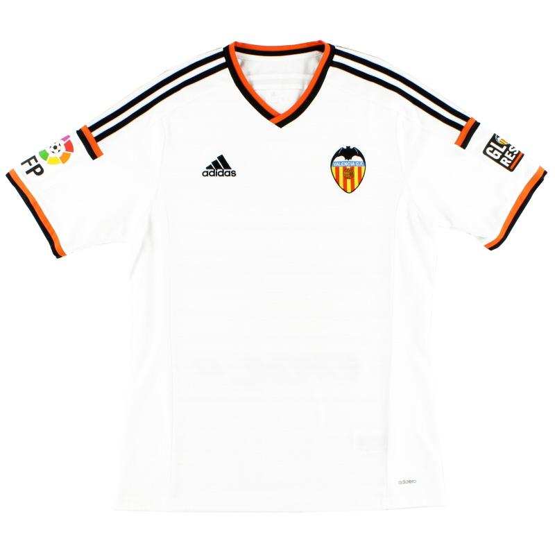 2014-15 Valencia Adizero Home Shirt L - S13113