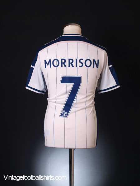 2014-15 West Brom Home Shirt Morrison #7 *Mint* M